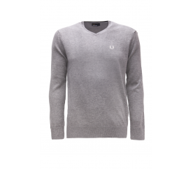 Fred Perry Svetr Grey Marl
