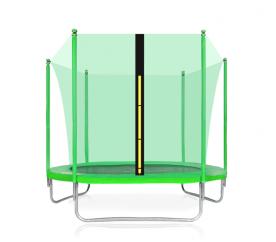 Aga SPORT FIT Trampolína 180 cm Light Green + vnitřní ochranná síť