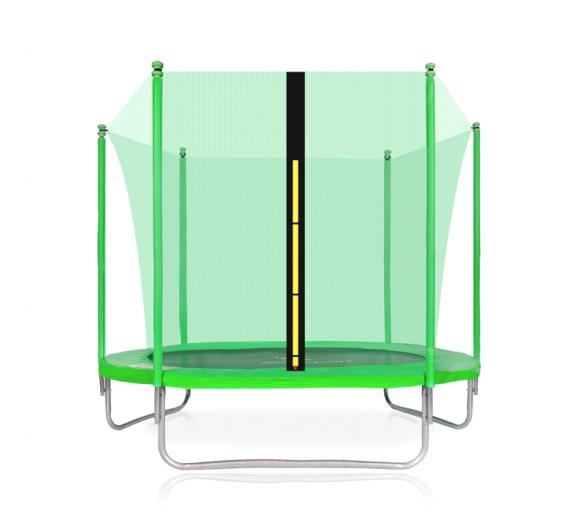 Aga SPORT FIT Trampolína 180 cm Light Green + vnútorná ochranná sieť