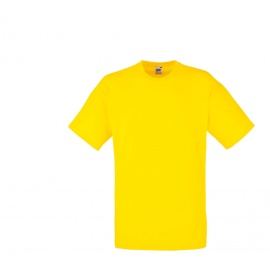 Fruit Of The Loom Tričko VALUEWEIGHT T Yellow