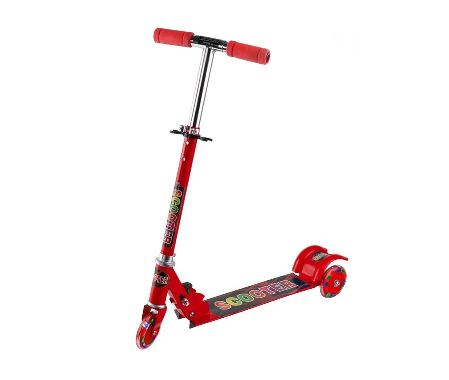 Aga4Kids gyerek roller LED Red