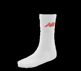 New Balance Tenisové ponožky 3-pack White