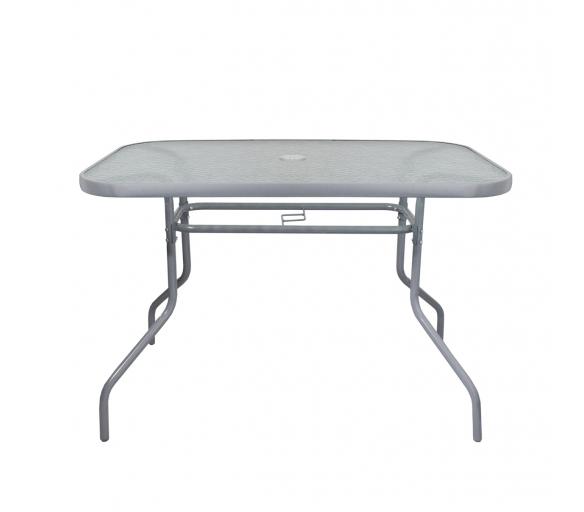 Aga Szklany stół ogrodowy MR4357LGY 110x70 cm