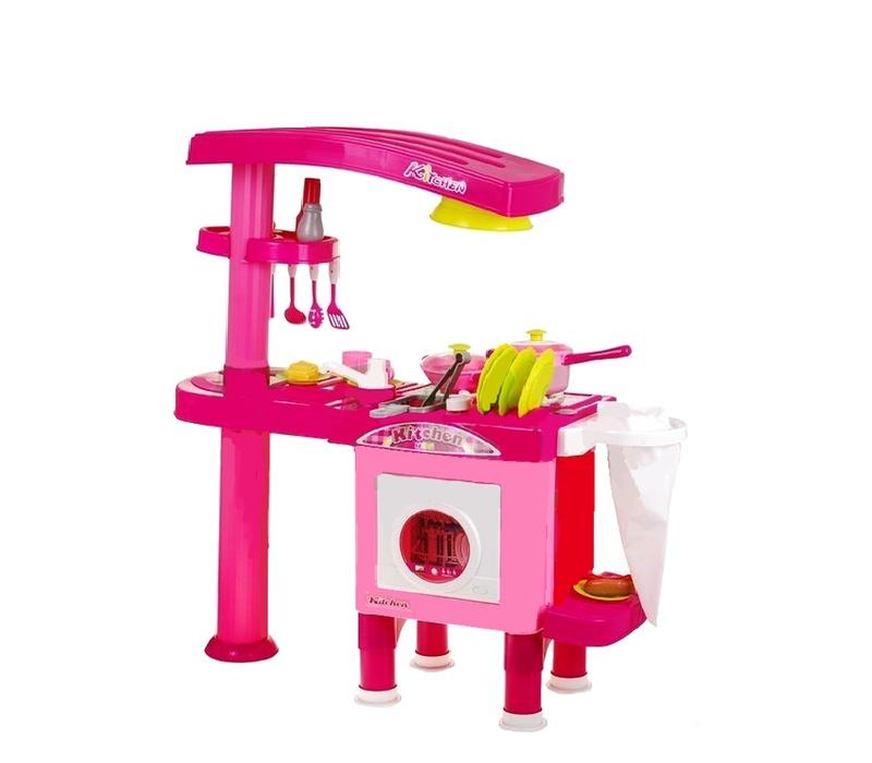 Aga4Kids Plastová kuchynka KITCHEN 008-82 Pink