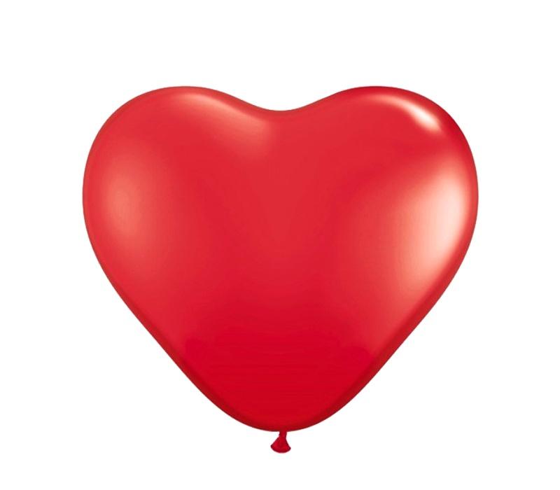 Aga4Kids Balónek SRDCE Red 28 cm