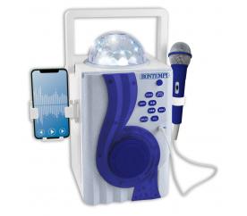 Karaoke boom box s disco světelnými efekty