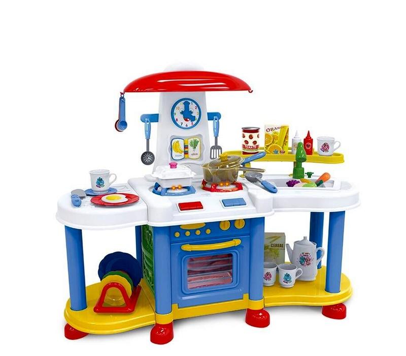 Aga4Kids Plastová kuchynka TOYS KITCHEN ZB-6013A