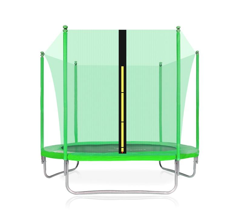 Aga SPORT FIT Trampolína 305 cm Light Green + vnútorná ochranná sieť