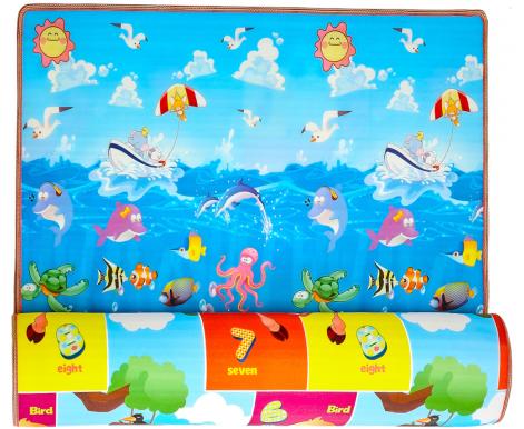 Aga4Kids Detská penová hracia podložka 150*180 cm MR101