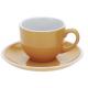 Hrnek na espresso 90ml, oranž.- poslední kus - EXCELLENT