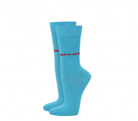 Pierre Cardin 2 PACK Turquoise zokni
