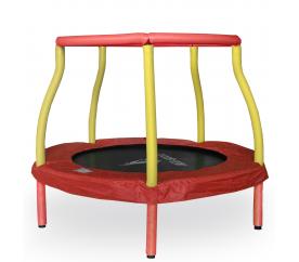 Aga Kindertrampolin 116 cm Rot/Gelb