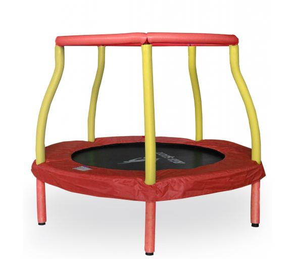 Aga Detská trampolína 116 cm Red/Yellow