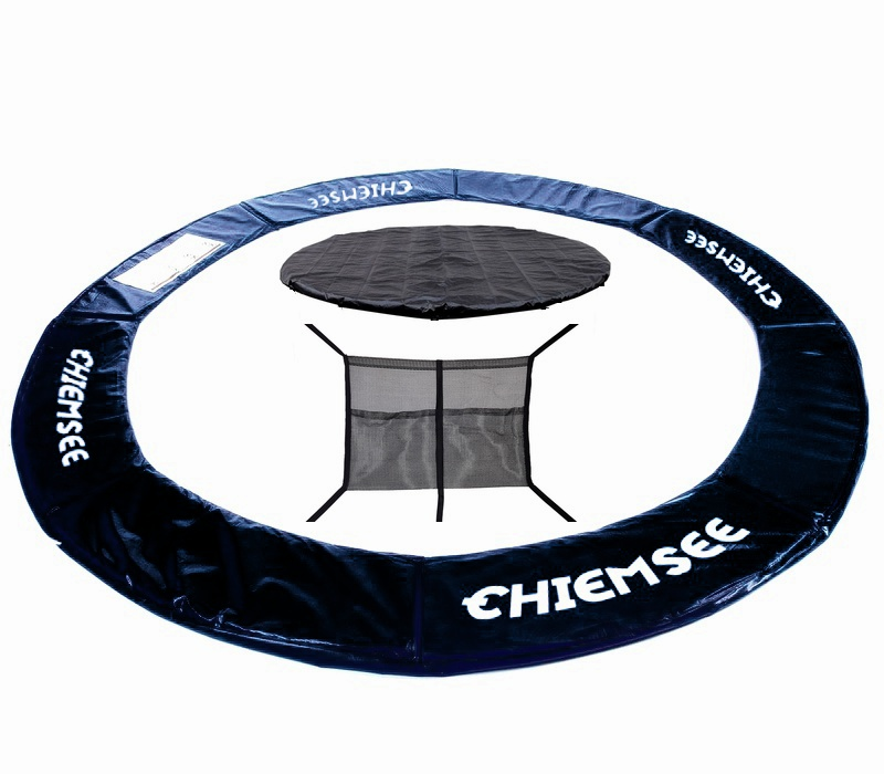 Chiemsee Chránič pružin + Plachta + Vrecko na obuv 305 cm Black