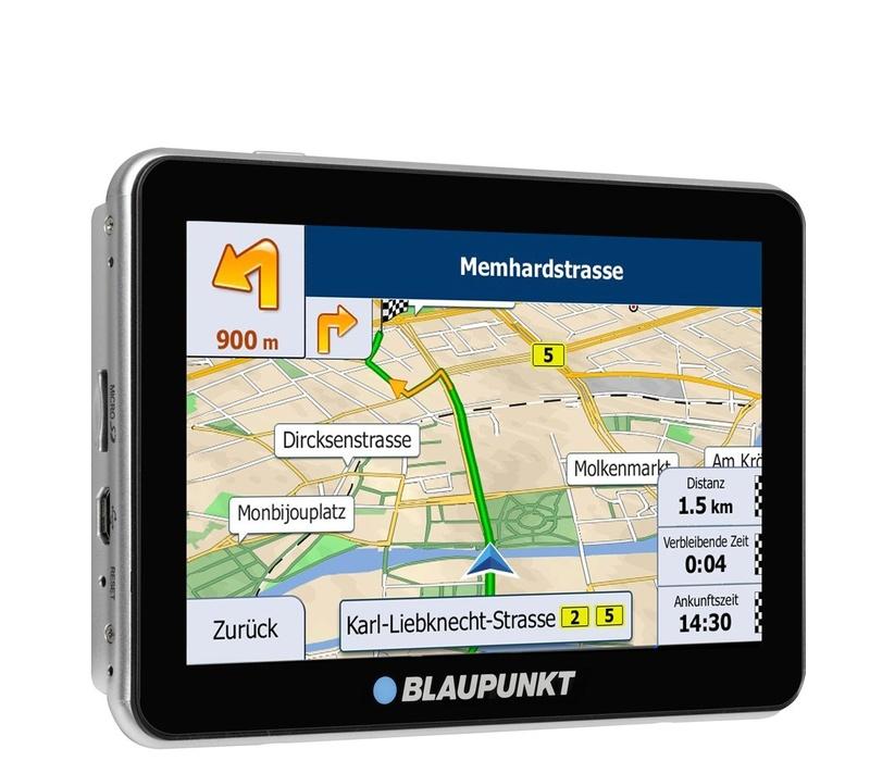 Blaupunkt GPS navigácia TravelPilot 53 EU LMU