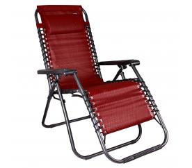 Linder Exclusiv Zahradní křeslo AERO GRT Red-Black