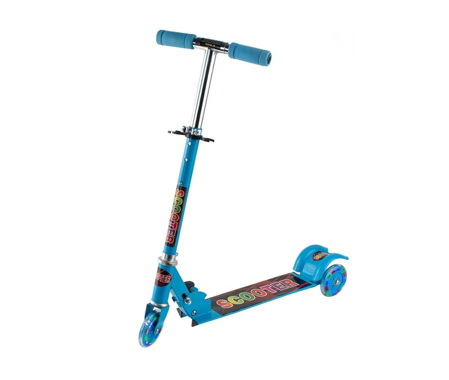 Aga4Kids gyerek roller LED Blue