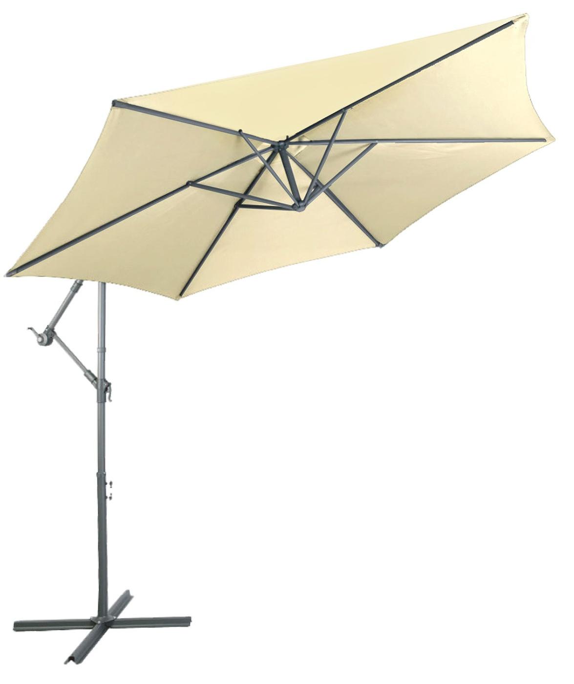 Linder Exclusiv Zahradní slunečník konzolový MC2007 300 cm Biege