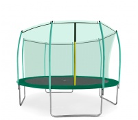 Aga SPORT FIT Trampolína 366 cm Dark Green + vnitřní ochranná síť