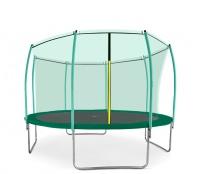 Aga SPORT FIT Trampolína 366 cm Dark Green + vnútorná ochranná sieť