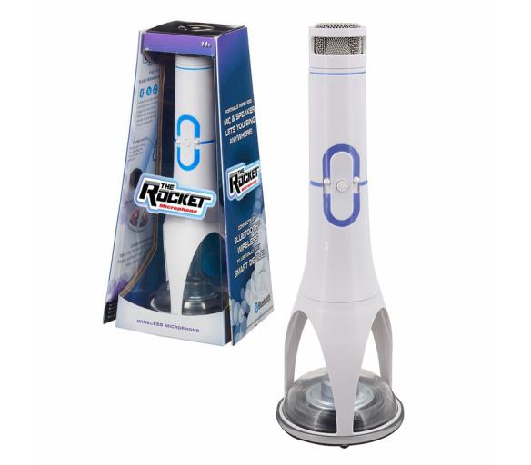 Singing Rocket Machine - White
