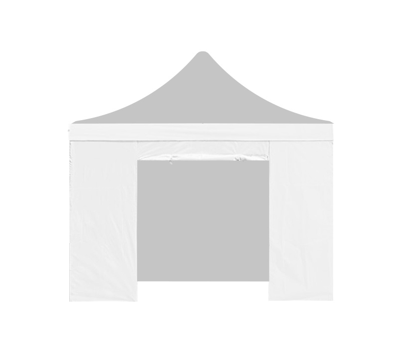 Aga Bočnice s dveřmi 2x2 m White
