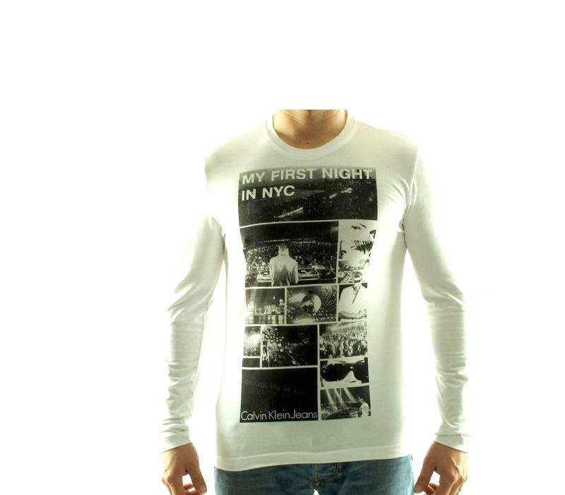 CALVIN KLEIN Tričko cmp80q Blanc