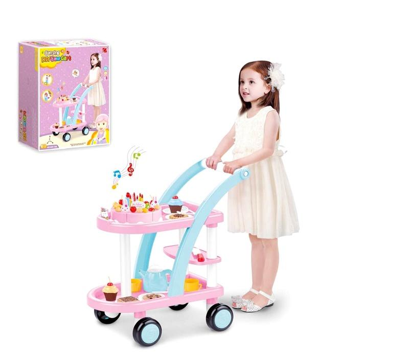 Aga4kids Servírovací vozík DIY CAKE CART HM835892