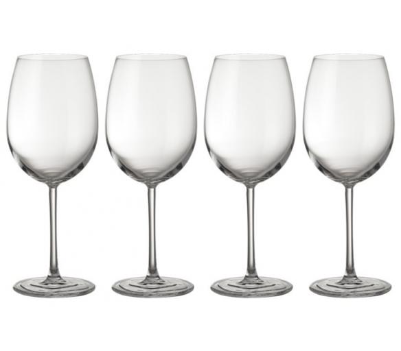 Jamie Oliver Sada 4 ručně foukaných sklenic na víno 580 ml