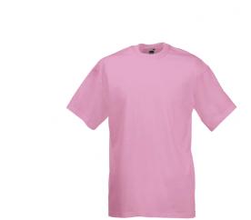 Fruit Of The Loom VALUEWEIGHT T Light Pink férfi póló