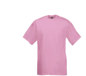 Koszulka Fruit of the Loom VALUEWEIGHT T Light Pink