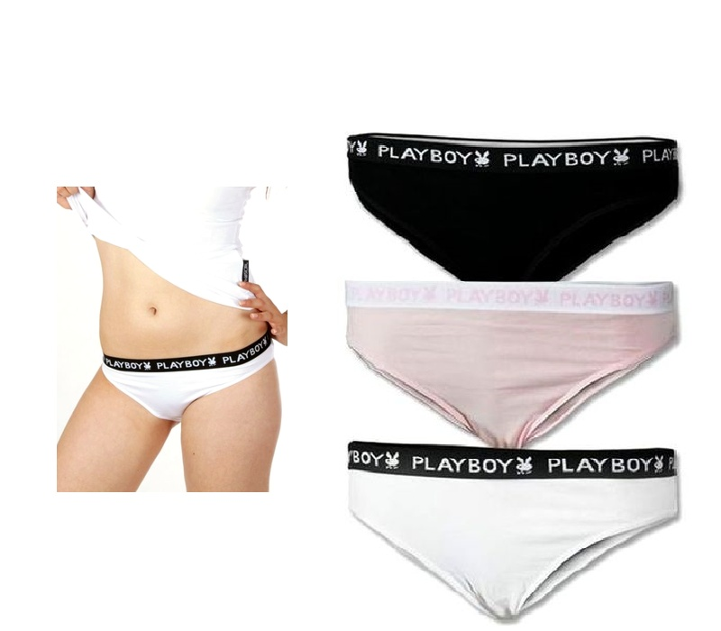 Playboy SLIPS 3-PACK Color Mix