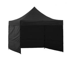 Aga Predajný stánok 3S POP UP 3x3 m Black