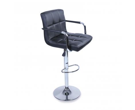 Tresko Barová židle s područkami BH012 Black