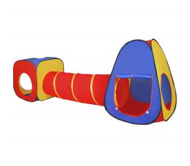 Aga4Kids Gyerek játszósátor összekötő alagúttal