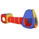 Aga4Kids Detský hrací stan so spojovacím tunelom