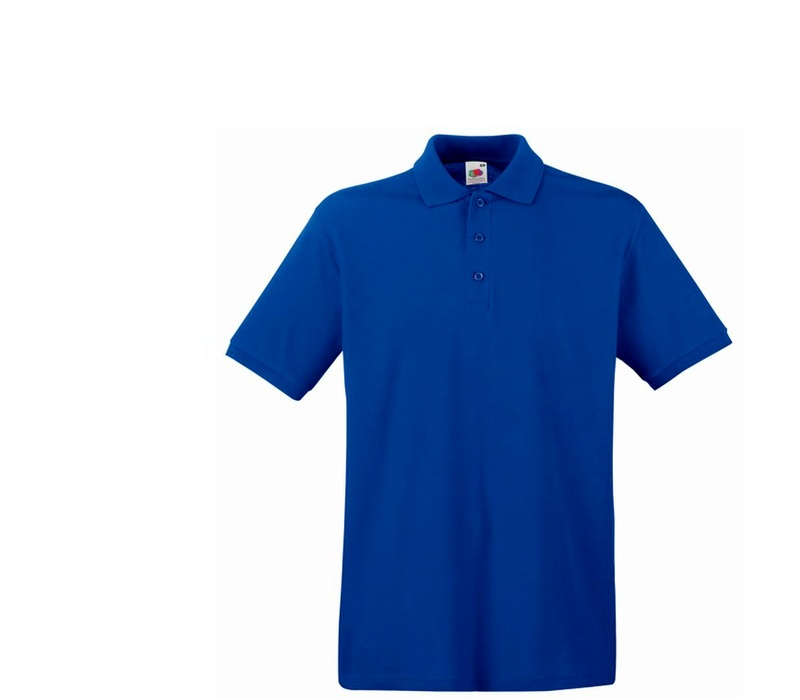 Fruit Of The Loom Tričko PREMIUM POLO Royal Blue