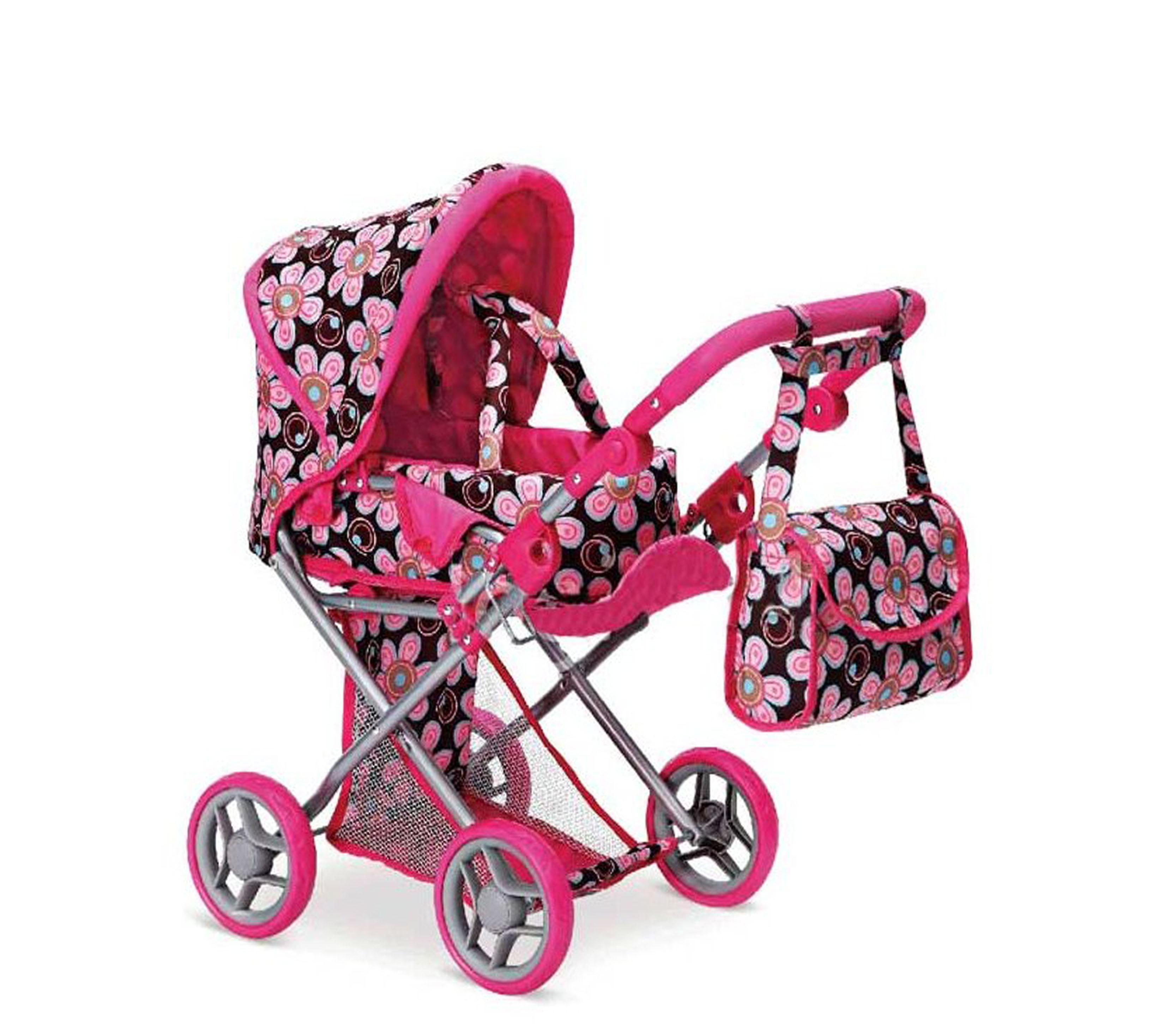 Doris Kočárek pro panenky 9346 Hot Pink 2