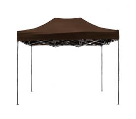 Aga  pót tető  POP UP 3x6 m Brown