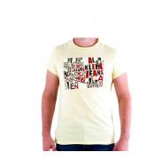 CALVIN KLEIN cmp57p 265 Jaune Pale férfi póló
