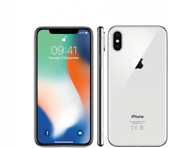 Apple iPhone X 64GB Silver Kategorie: A