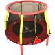 Aga Detská trampolína 116 cm Red/Yellow + ochranná sieť