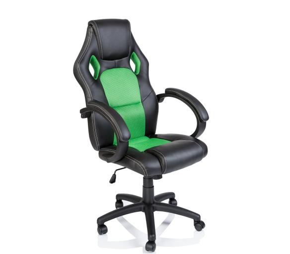 Aga Kancelářské křeslo Racing Black - Green