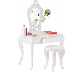 Aga4Kids Detský kozmetický stolík MRDTC02W
