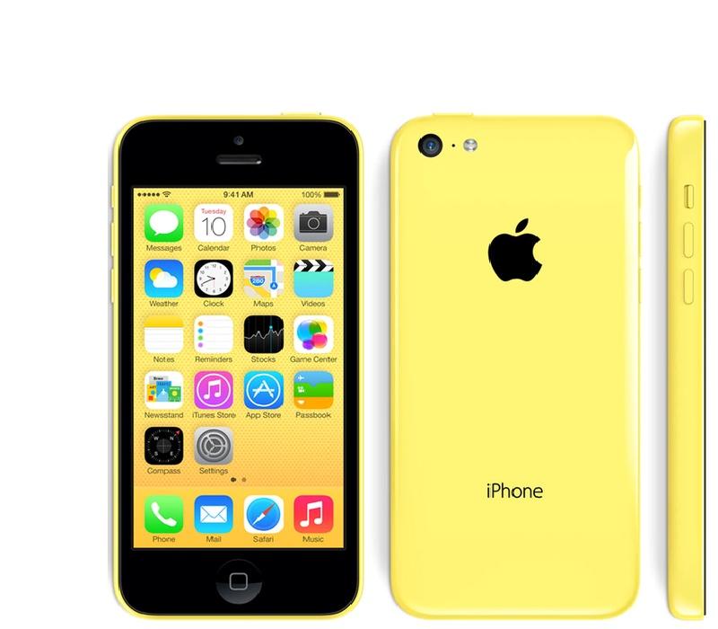 Apple iPhone 5C 16GB Yellow Kategorie: C
