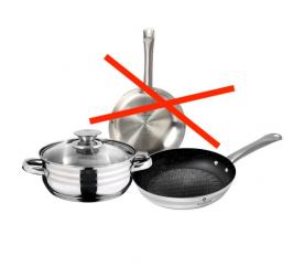 Sada nádobí 3ks s nepřilnavým povrchem XYLAN Gourmet Line - Blaumann