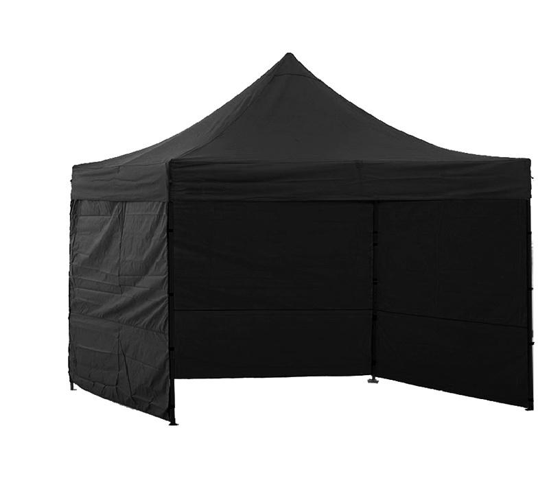 Aga Prodejní stánek 3S POP UP 2x2 m Black