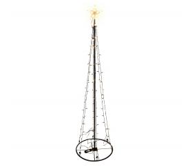 Linder Exclusiv Světelný vánoční stromeček 154 LED 240 cm