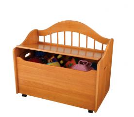 KidKraft Dětská lavice TOY BOX NATURAL