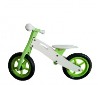 Wooden Toys Odrážadlo BASIC Green